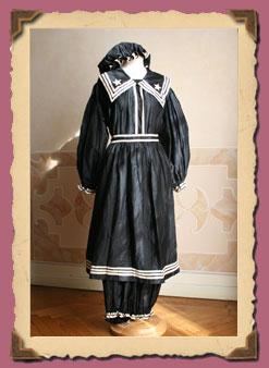 Abiti antichi collezione 1870 1882 - Costumi da bagno del 1900 ...