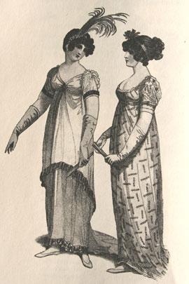 45c902c99c41 Abiti Antichi - Storia della Moda 1796-1839