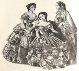 Abiti Antichi - Storia della Moda 1883-1890 dd6071b1759