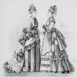 deb386690153 Abiti Antichi - Storia della Moda 1883-1890