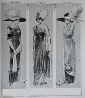 a6f4c6bfb4c9 Abiti Antichi - Storia della Moda 1910-1914