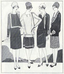 ee1e73beef0d Abiti Antichi - Storia della Moda 1923-1930